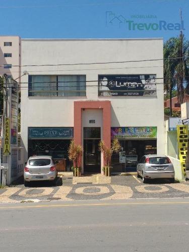 sala comercial à venda, vila bissoto, valinhos. - sa0100