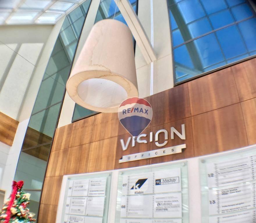 sala comercial vision offices barra da tijuca - sa0039
