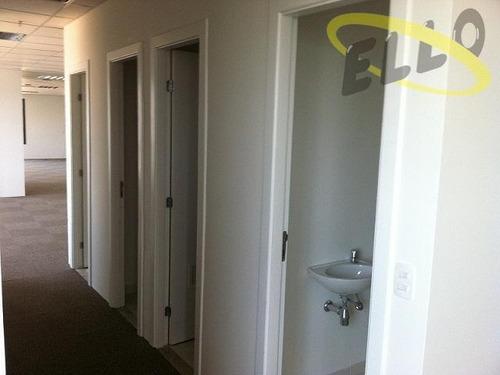 sala corporativa em alphaville com 717 m² prédio novo - sa0140
