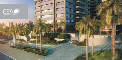 sala corporativa para locação, alphaville, barueri - sa0143. - sa0143