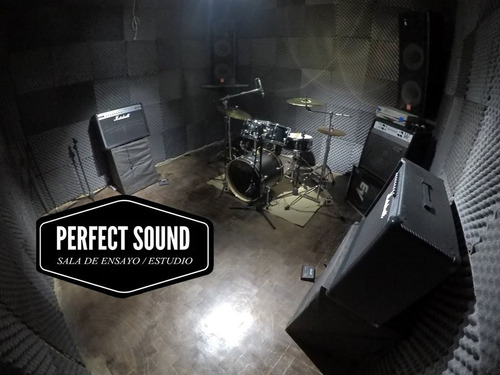 sala de ensayo y estudio de grabación zona sur marshall jbl