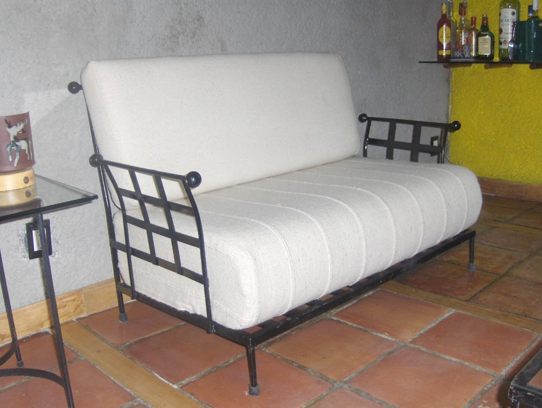Sala De Herreria Rustica Modelo Pall 18 400 00 En Mercado Libre # Muebles De Heereria