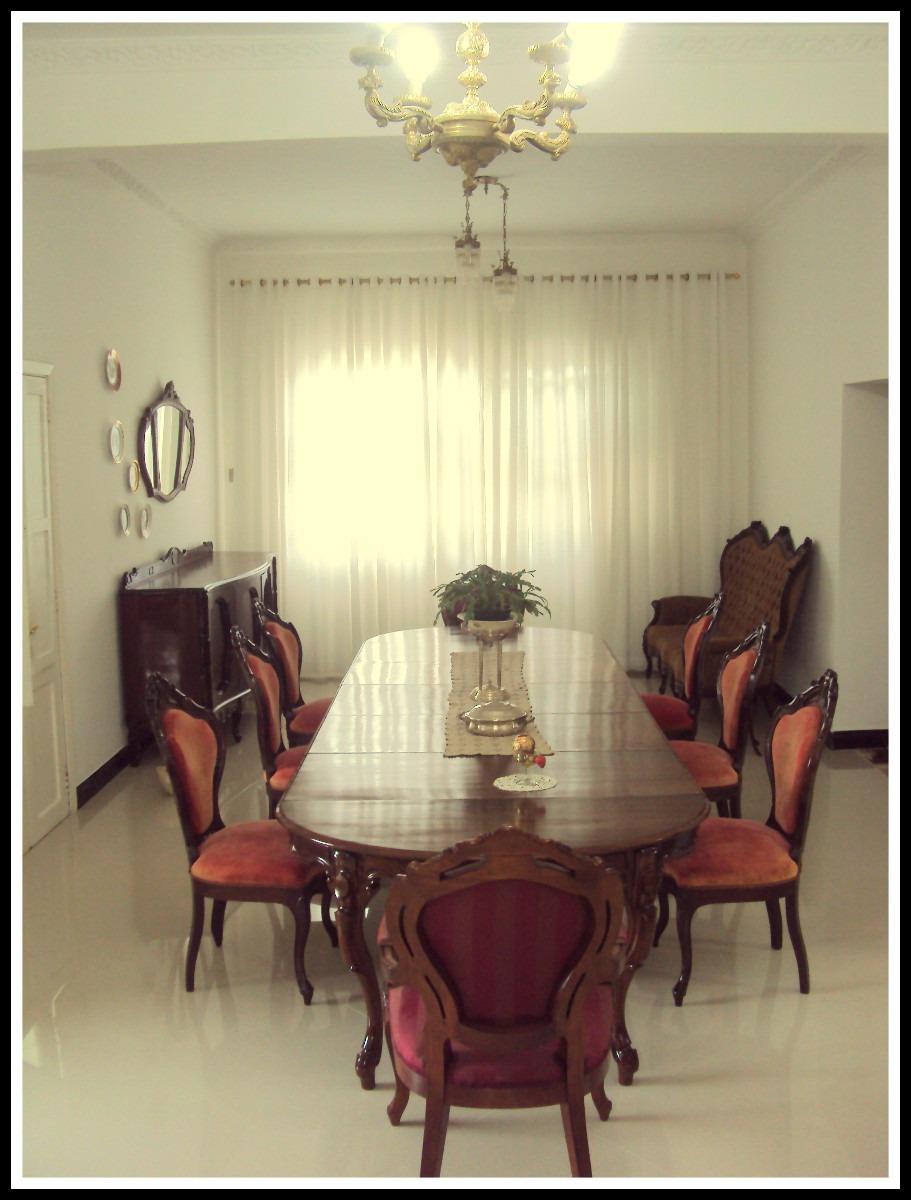 Buffet Para Sala De Jantar Antigo ~ Sala De Jantar Luis Xvantiga 8 Cadeiras E Buffet  R$ 16000,00 em