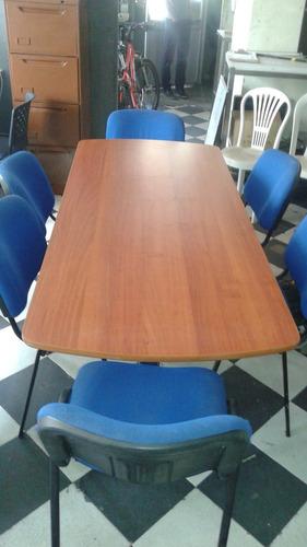 sala de juntas excelente estado y 6 sillas - gran oferta