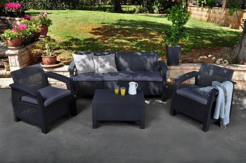 sala de lujo tipo rattán lounge terraza jardín msi envío inc