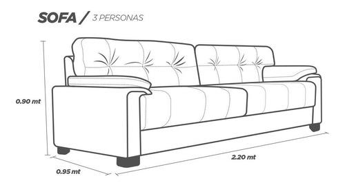 sala de piel - atenas  / sofa y love - confortopiel