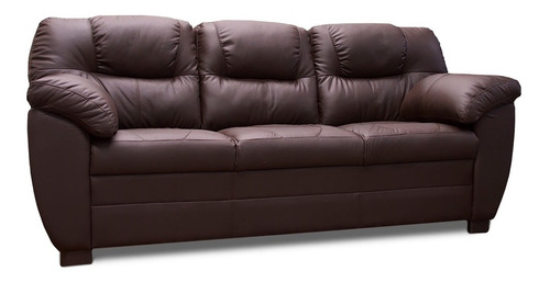 sala de piel - toscana  / sofa y love - conforto muebles