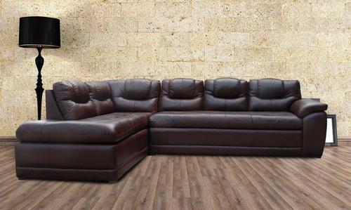 sala de piel - verona - esquinera - sofa y chaise 10% desc.