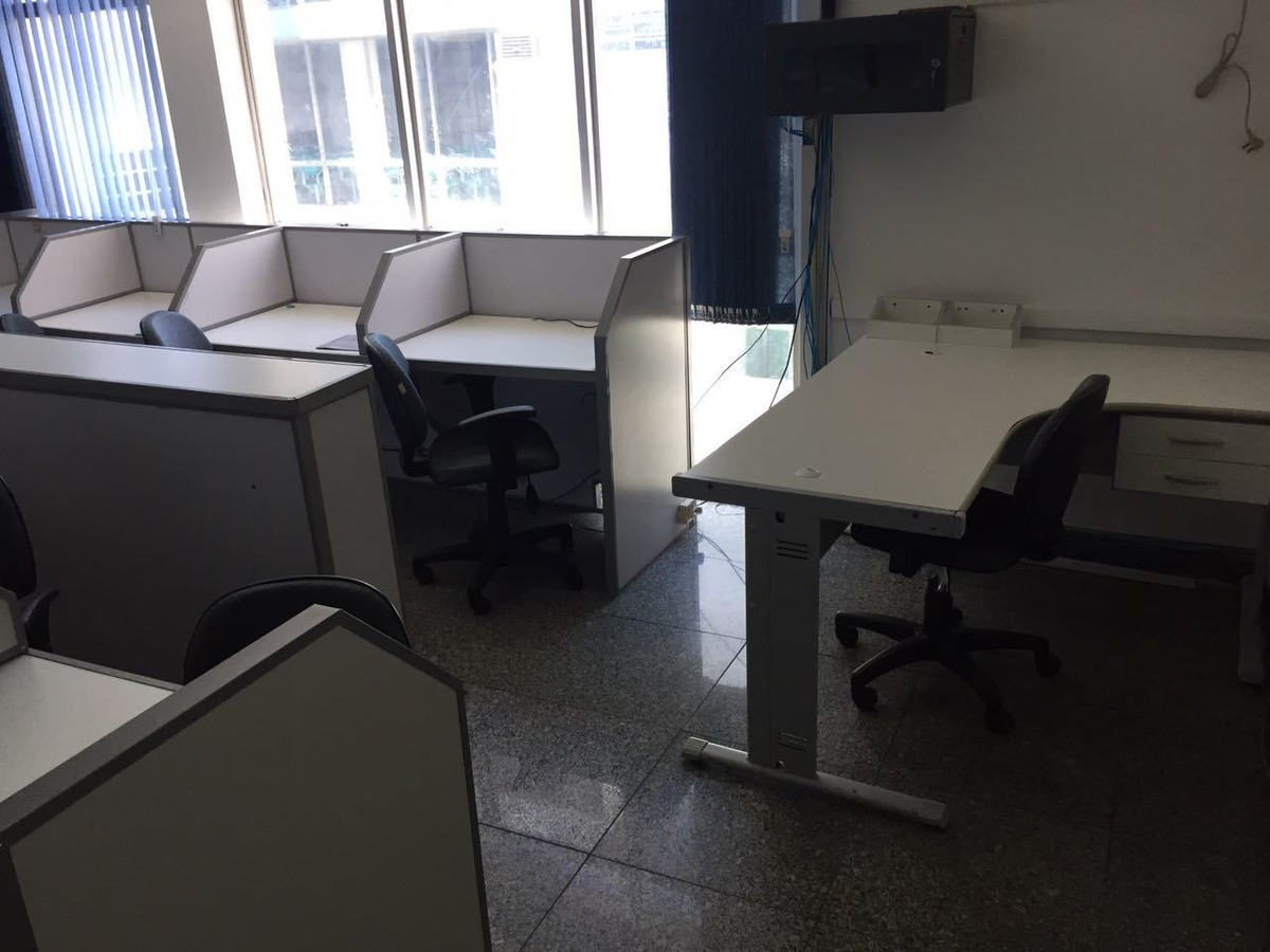 sala duplex mobiliada call center no centro de niterói rj