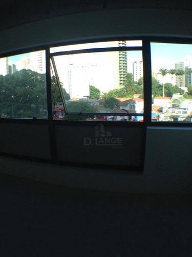sala em campinas com toda infraestrutura no prédio - instalaçoões modernas - sa1807
