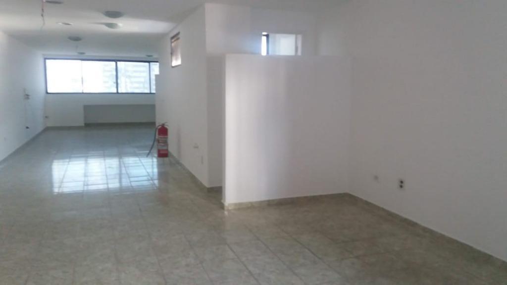 sala em campo grande, santos/sp de 109m² para locação r$ 2.960,00/mes - sa326295