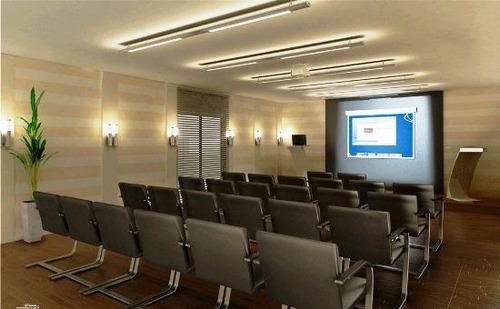 sala em campo grande, santos/sp de 45m² para locação r$ 2.000,00/mes - sa83620