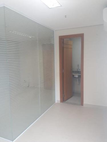 sala em campo grande, santos/sp de 45m² para locação r$ 2.250,00/mes - sa107924