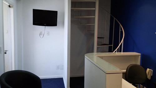 sala em centro, niterói/rj de 120m² à venda por r$ 550.000,00 - sa214968