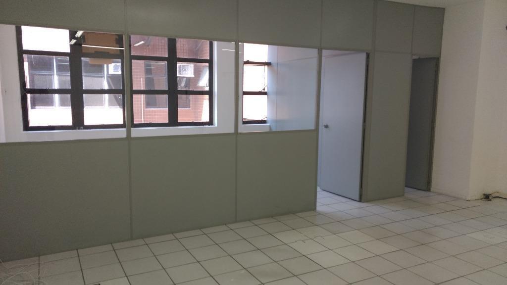 sala em centro, santos/sp de 84m² para locação r$ 1.950,00/mes - sa326350