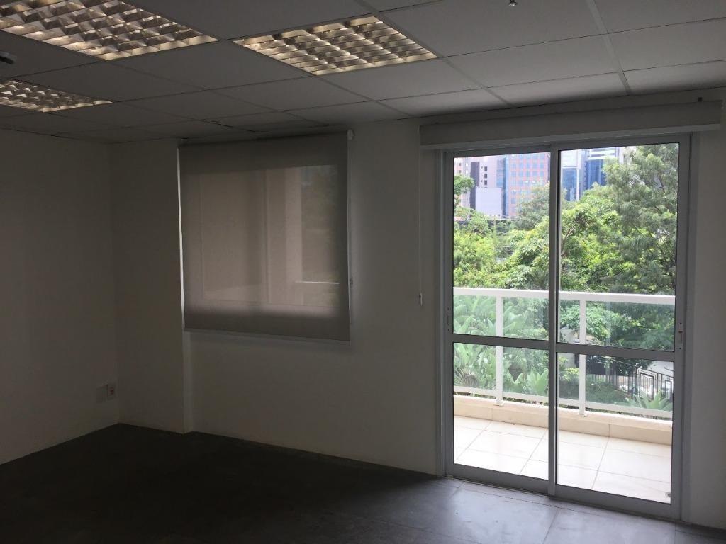 sala em cidade monções, são paulo/sp de 84m² para locação r$ 5.460,00/mes - sa179767