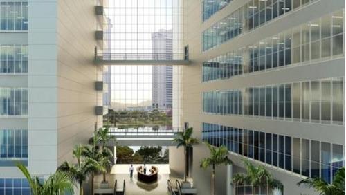 sala em edificio brascan century plaza, barueri/sp de 107m² à venda por r$ 750.000,00 - sa182796