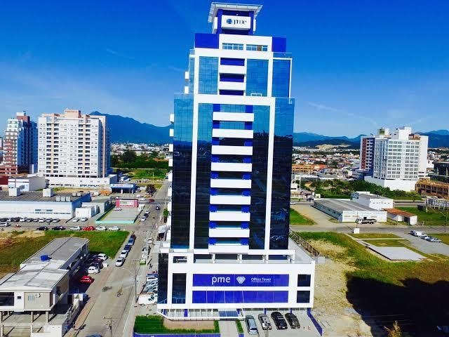sala em pagani, palhoça/sc de 29m² à venda por r$ 140.000,00 - sa323577