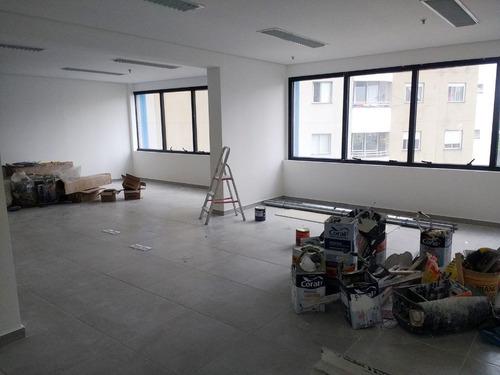 sala em pinheiros, são paulo/sp de 70m² para locação r$ 3.500,00/mes - sa169821
