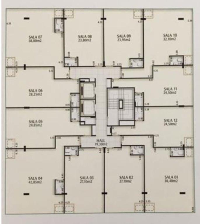 sala em são francisco, niterói/rj de 38m² à venda por r$ 320.000,00 - sa214221