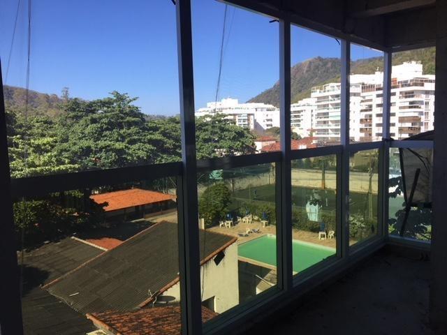 sala em são francisco, niterói/rj de 38m² à venda por r$ 420.000,00 - sa214221