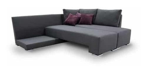 sala esquina ivanna sofa cama- inlab muebles