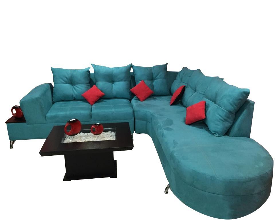 Sala esquinera lang lounge salas en equina 14 for Salas esquineras