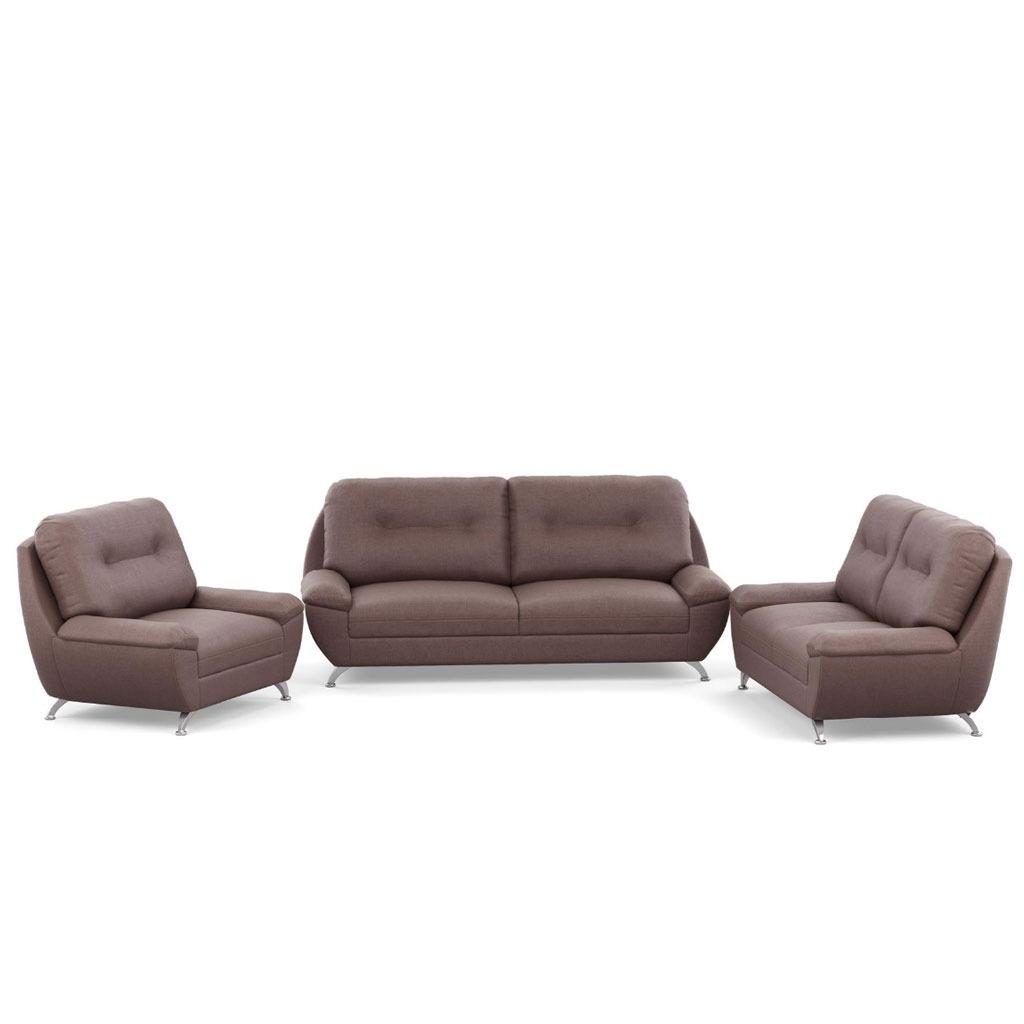 Sala fiore de 3 piezas tapizada en lino 10 en for Muebles de sala 3 piezas