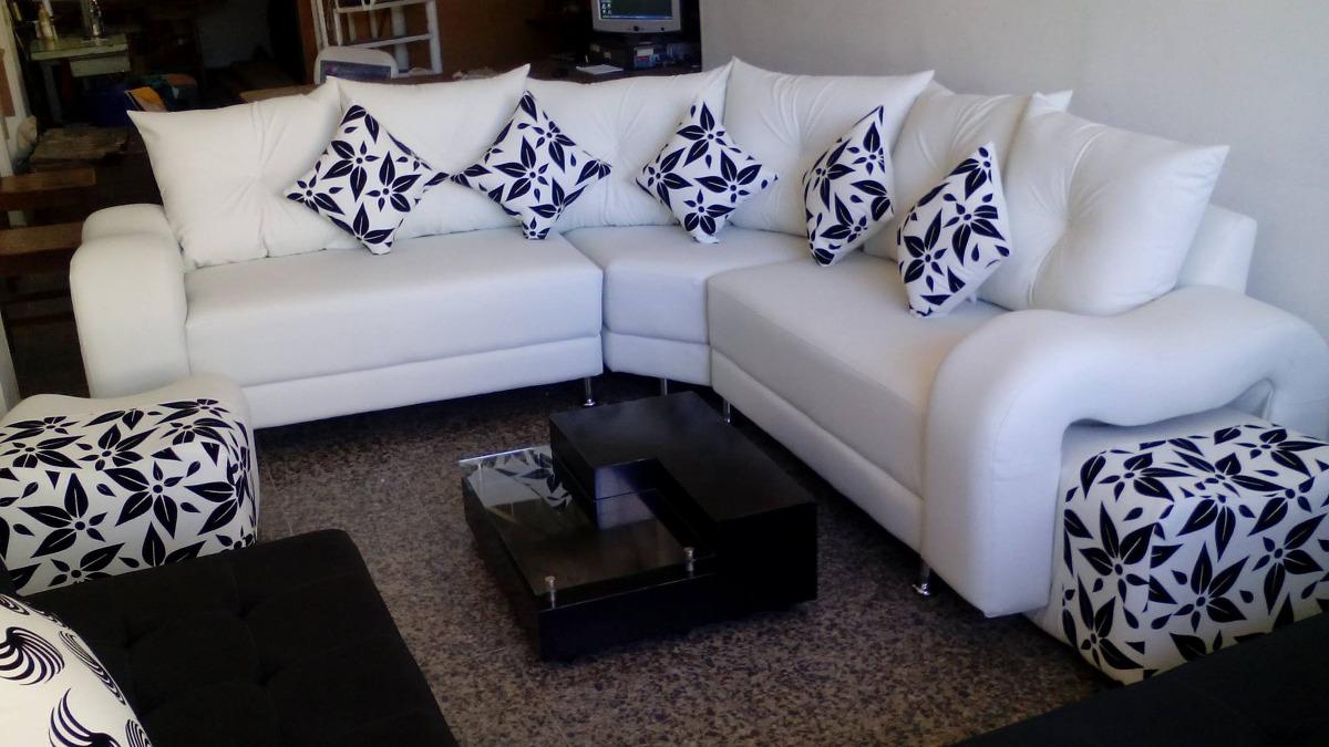 Sala l grande en mercado libre for Muebles de sala en l modernos