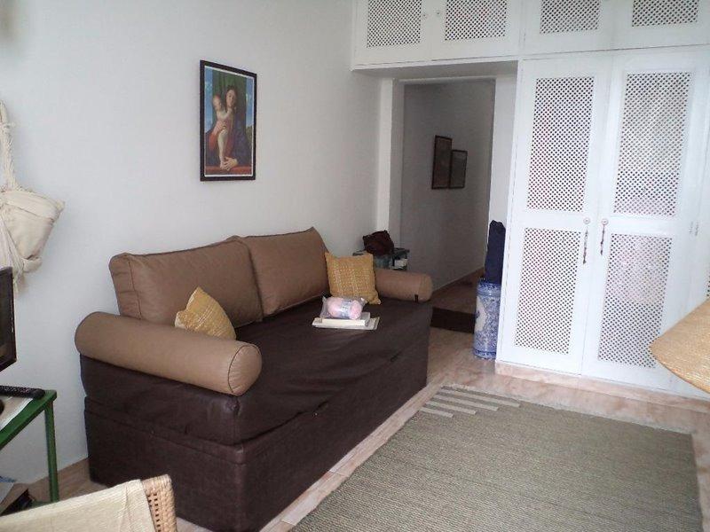 sala living residencial à venda, boqueirão, santos.