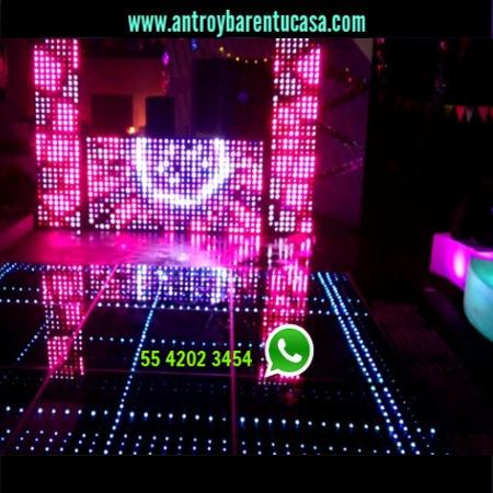 sala lounge periqueras iluminadas renta dj para fiesta cdmx