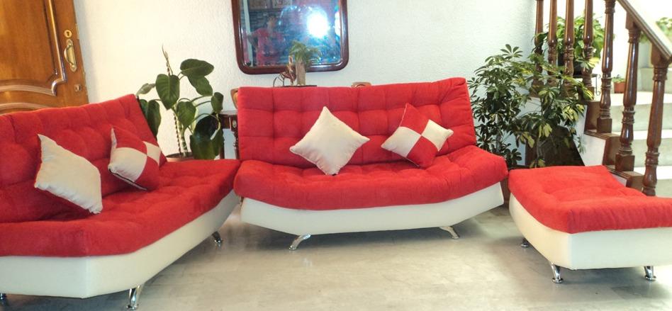 Sala lounge vip moderna minimalista barata puff salas for Salas pequenas y baratas