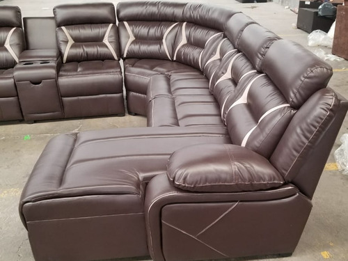 sala love con reclinable 2 plazas
