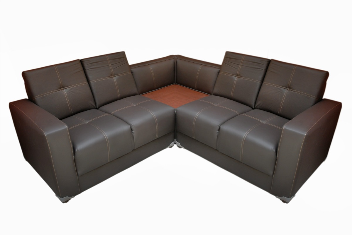 sala minimalista vanguardista moderna esquinera modular
