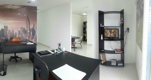 sala mobiliada = vista para o mar = empreendimento  novo = uma vaga - sa0015