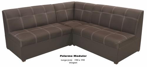 sala modelo palermo modular usado en exhibición
