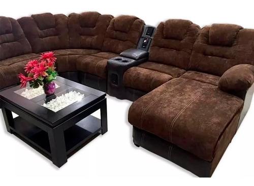 sala modular usb bluetooth asiento reclinable reposet e
