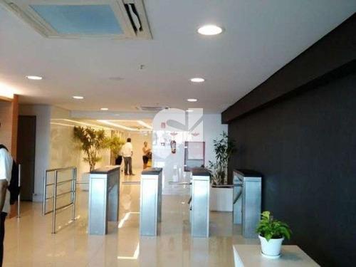 sala nova, pronta com ar e piso! - sl0157