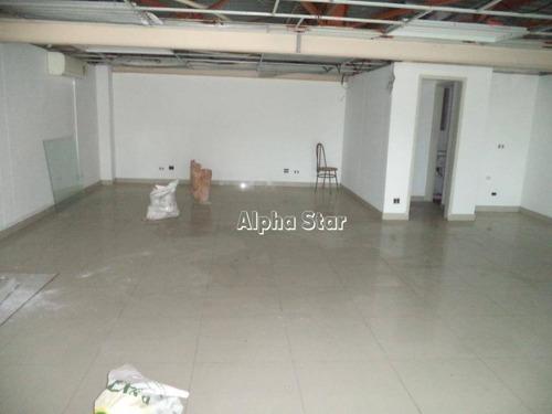 sala para alugar, 100 m² por r$ 2.800/mês - condomínio centro comercial alphaville - barueri/sp - sa0318