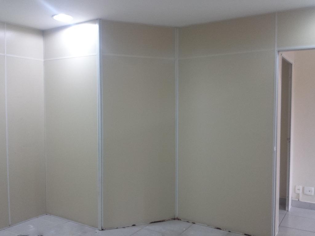 sala para alugar, 102 m² por r$ 2.200,00/mês - jardim da glória - cotia/sp - sa0207