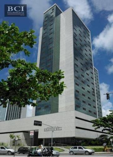 sala para alugar, 105 m² por r$ 4.500/mês - boa vista - recife/pe - sa0077