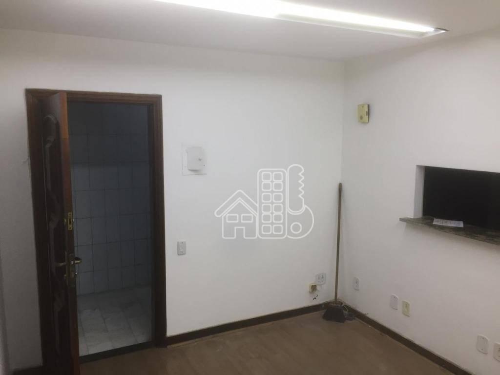 sala para alugar, 120 m² por r$ 5.800,00/mês - centro - niterói/rj - sa0105