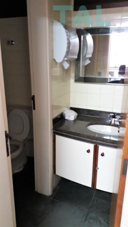 sala para alugar, 131 m², 2 vagas, 4 consultórios, 5 banheiros, clínica montada, mobiliada, guanabara - sa0017