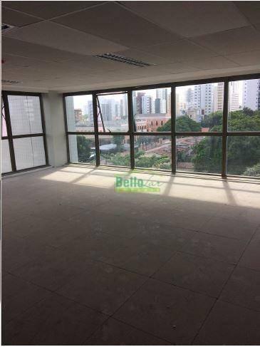 sala para alugar, 160 m² por r$ 9.600,00/mês - casa forte - recife/pe - sa0099