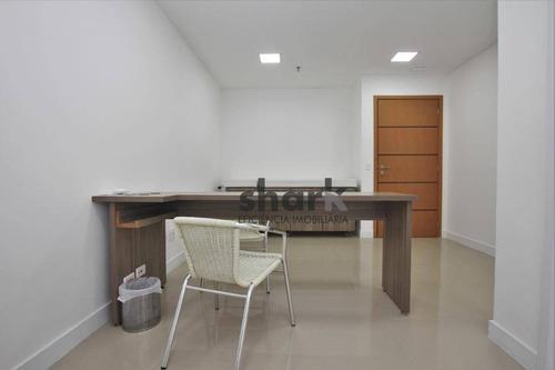 sala para alugar, 18 m² por r$ 1.200/mês - alphaville industrial - barueri/sp - sa0007