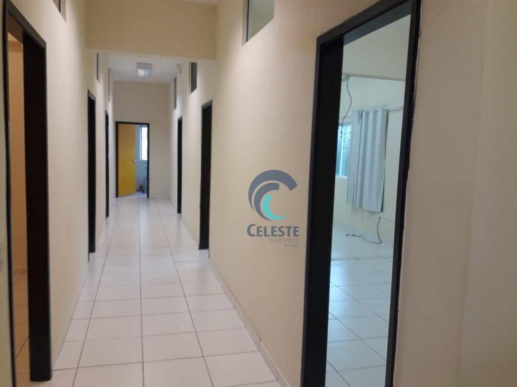 sala para alugar, 200 m² por r$ 3.000/mês - monte castelo - são josé dos campos/sp - sa0226
