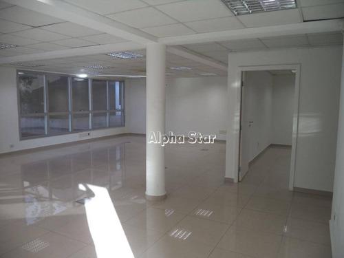 sala para alugar, 204 m² por r$ 6.000/mês - alphaville comercial - barueri/sp - sa0326