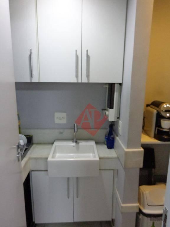 sala para alugar, 220 m² por r$ 12.000/mês - alphaville - barueri/sp - sa0173