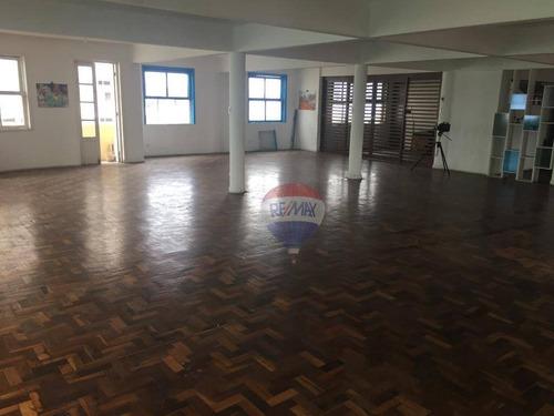 sala para alugar, 230 m² por r$ 2.900/mês - santo antônio - recife/pe - sa0070