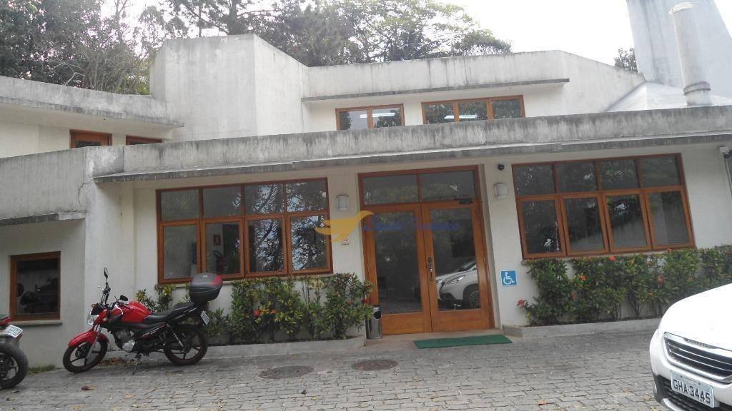 sala para alugar, 24 m² por r$ 1.100/mês - granja viana - cotia/sp - sa0082